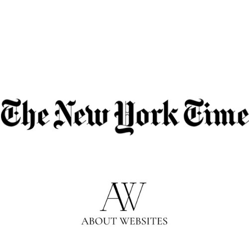 The New York Times Logo- About Websites